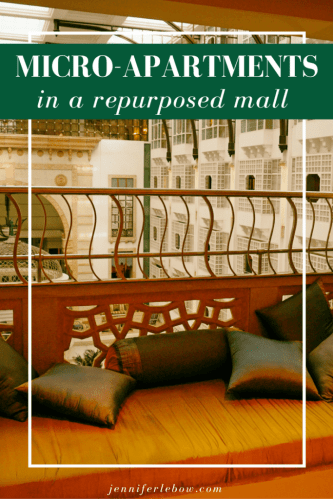 Repurposed mall becomes micro-apartments