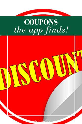 An App that Finds Coupons for You!