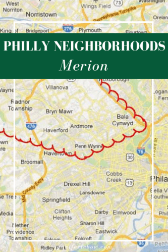 Relocating to the Philadelphia area and looking for a charming suburb with great city access? Merion is it!