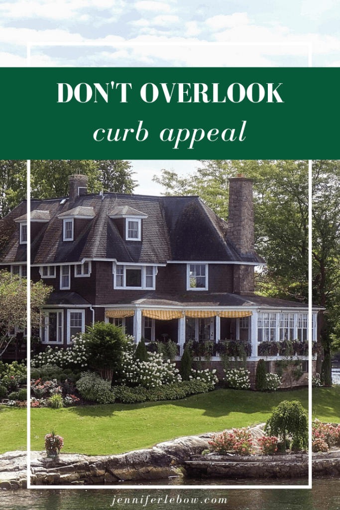 The importance of curb appeal when selling