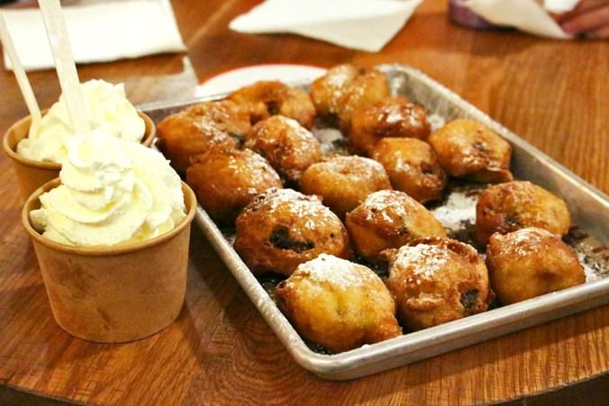 Fried Oreos, Creamline
