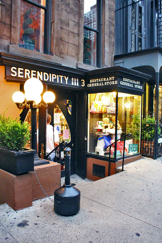 Serendipity 3, New York