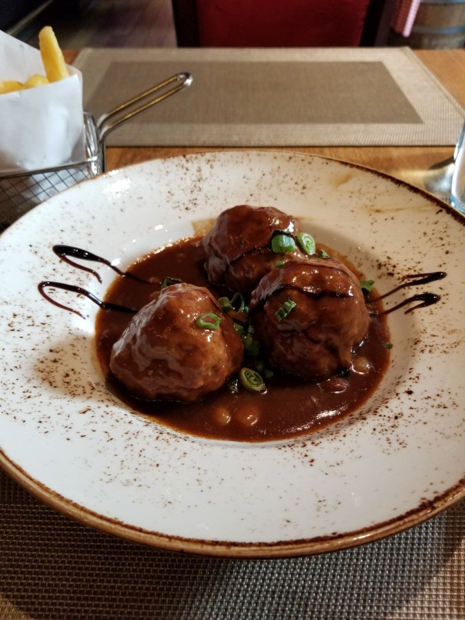 Liege meatballs