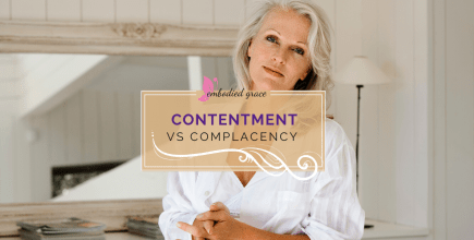 Contentment vs Complacency
