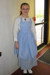 Jessica as Dorothy