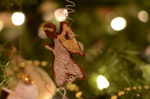 Easy and Fun Gingerbread Angel Ornament