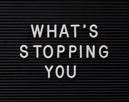whatsstoppingyou