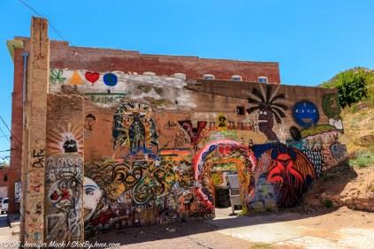 Bisbee seems to embrace their street art.