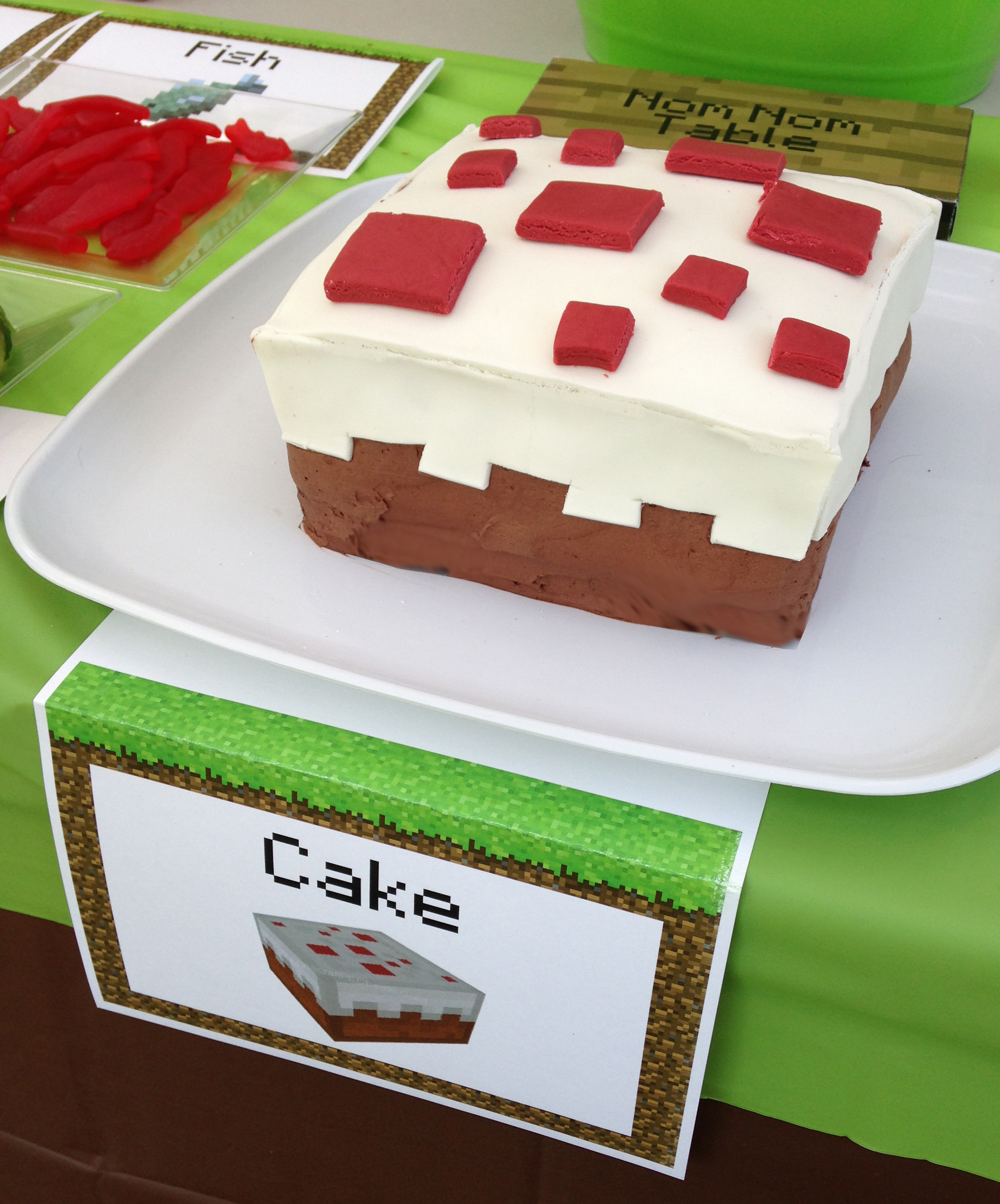 An Epic Minecraft Birthday Party With Games And Printables
