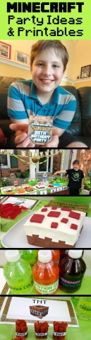An Epic Minecraft Birthday Party  with Games and Printables     Plan an epic Minecraft birthday party with free templates  games  DIY  decorations  food
