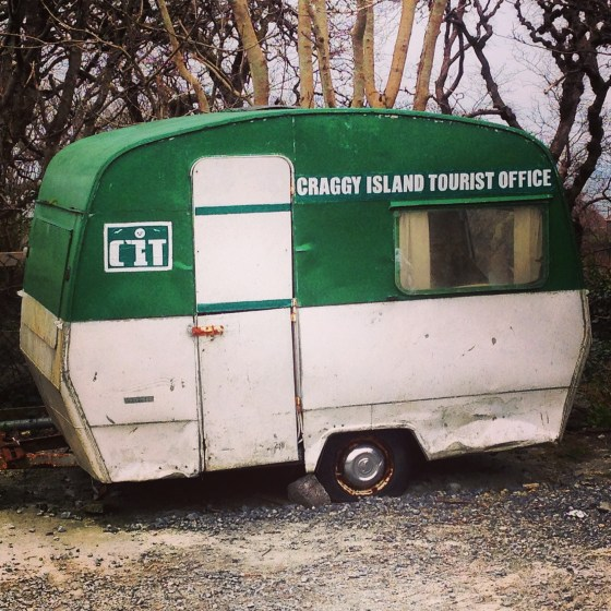 Father Ted caravan