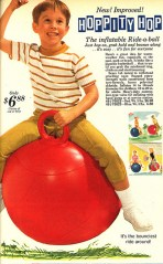 vintage advertisment for a Hoppity Hop (tm)