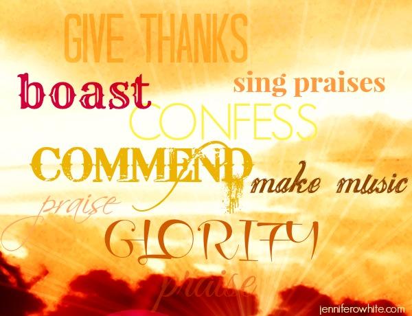 praise God means