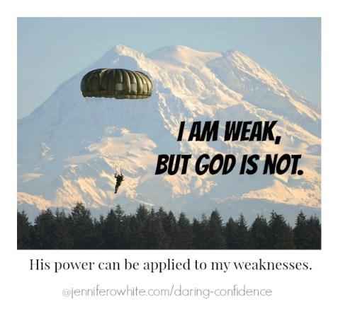 I am Weak but God is Not