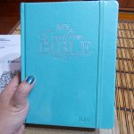 """""""My Creative Bible KJV"""" Aqua Bought From Bookdepository.com Review"""