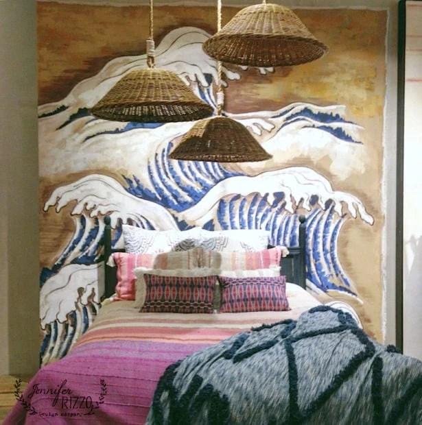 Anthro bedroom display
