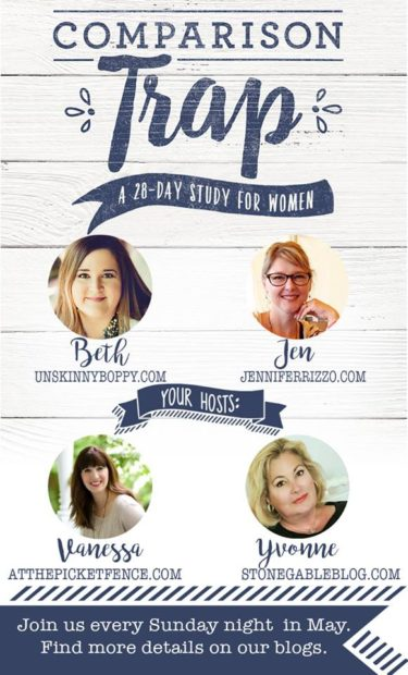 The Comparison Trap 28 day devotional for women study group