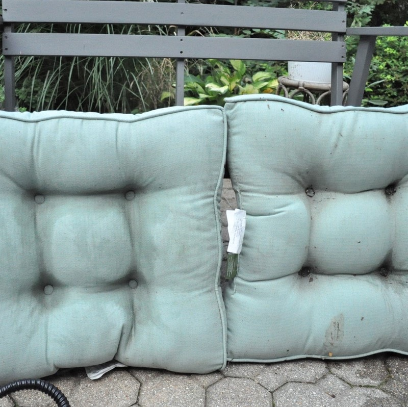 how to clean outdoor cushions for