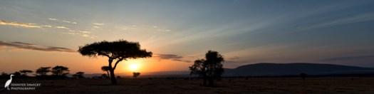 mara sunrise pano