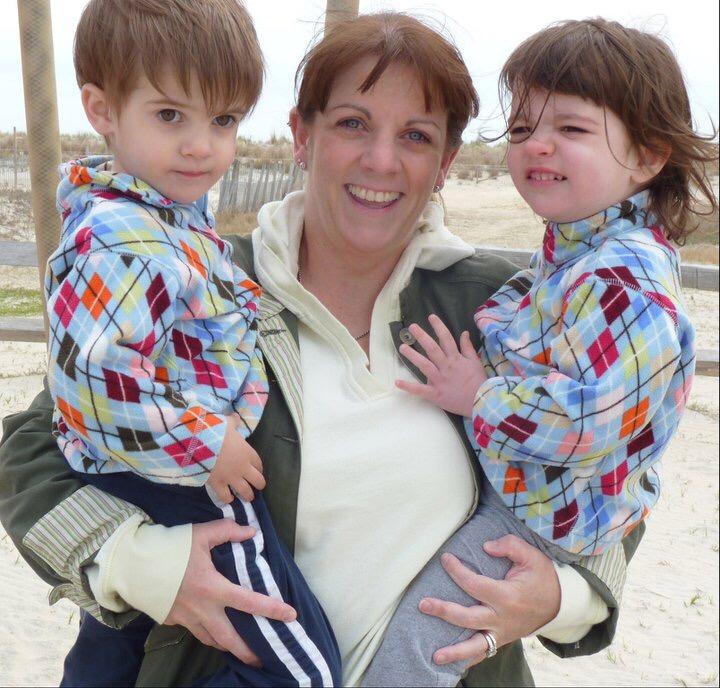Nicole and kids