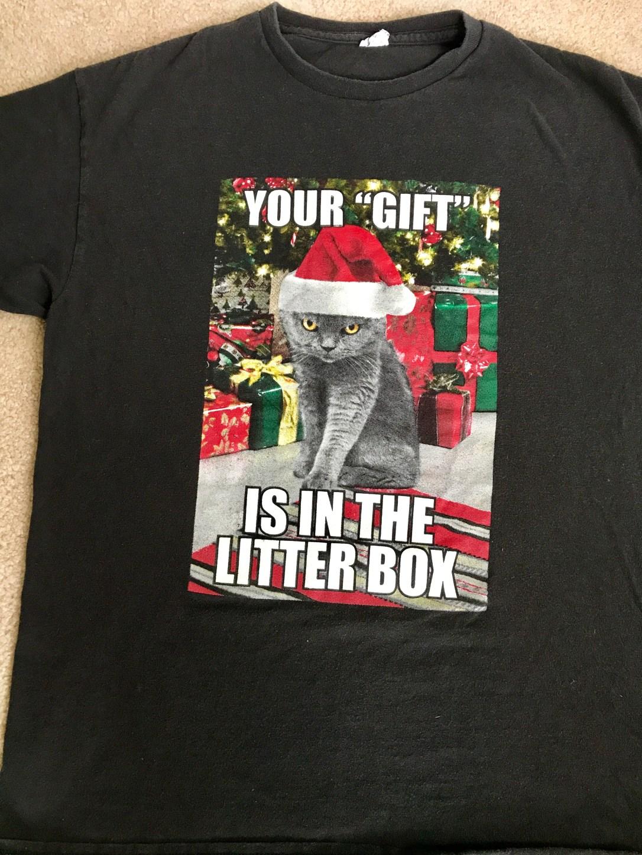 litter box tee