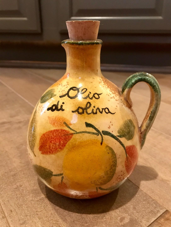 olive oil jar