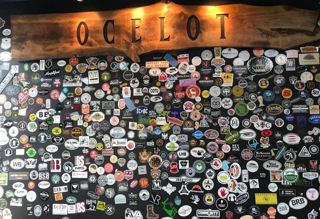 Ocelot sticker wall