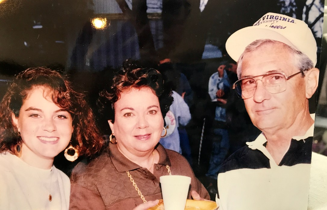 dad and mom wvu