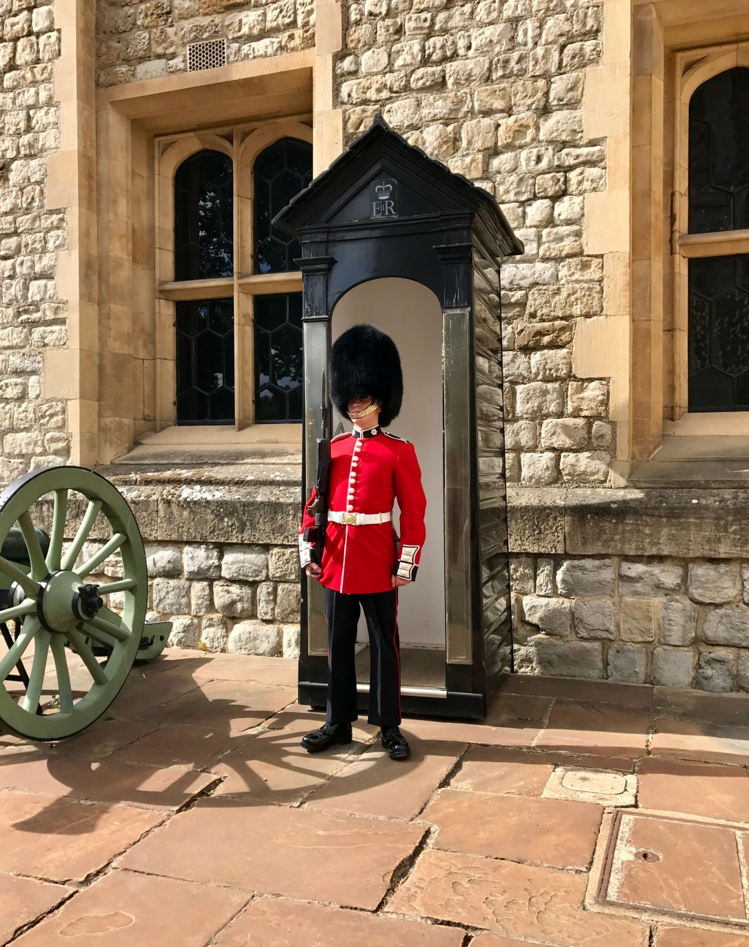 Queens guard tower of london