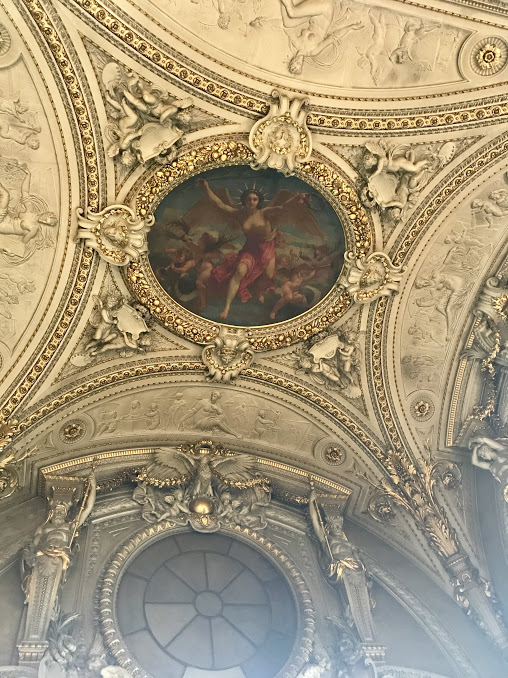 ceiling louvre