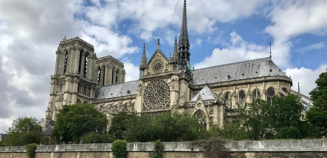 notre dame full view