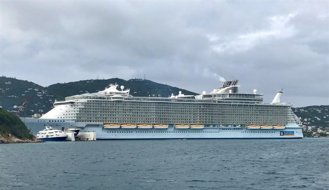 Allure of the sea full ship