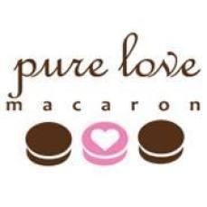 pure love macaron logo