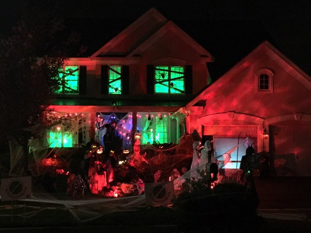 Trish Halloween House