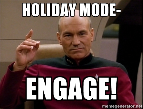 holiday mode - engage