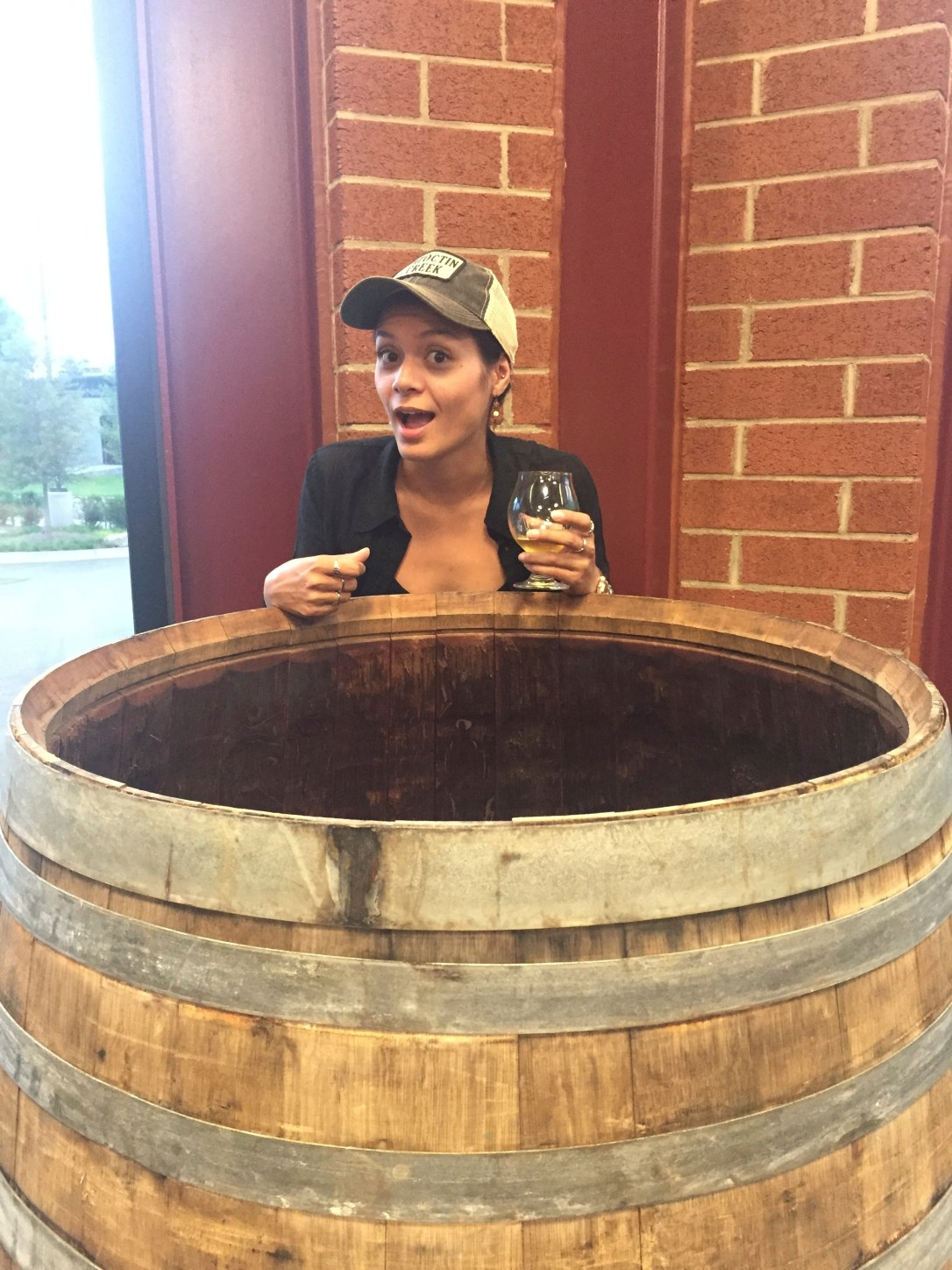 denise and barrel