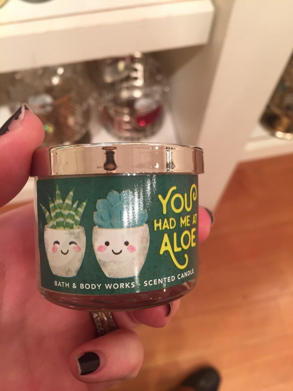 bath and body - you had me at aloe