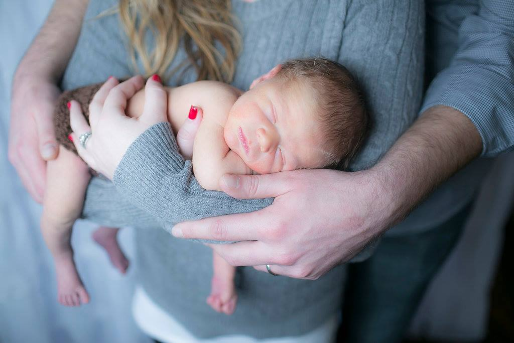 calvin newborn pic