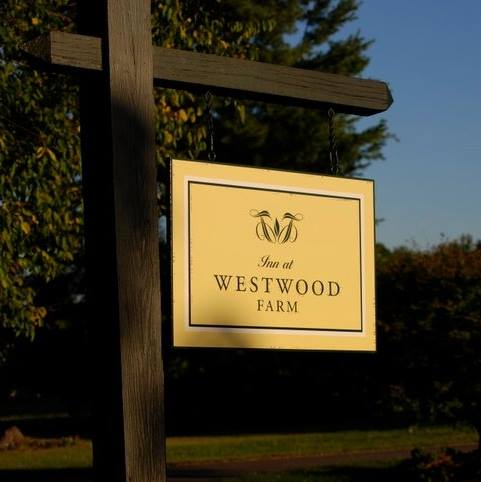 inn at westwood farm sign