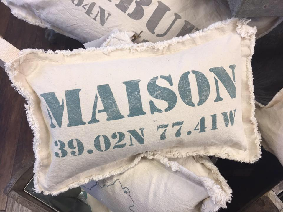 Maison Warehouse Latitude pillow