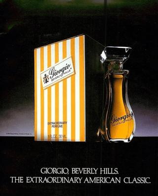 Giorgio parfum ad