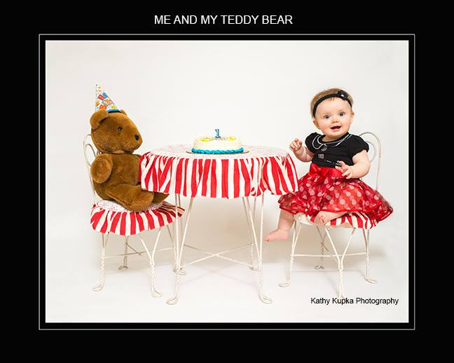 Kathy Kupka - baby and bear