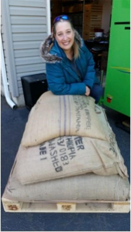 Java Jens - Jen with coffee shipment
