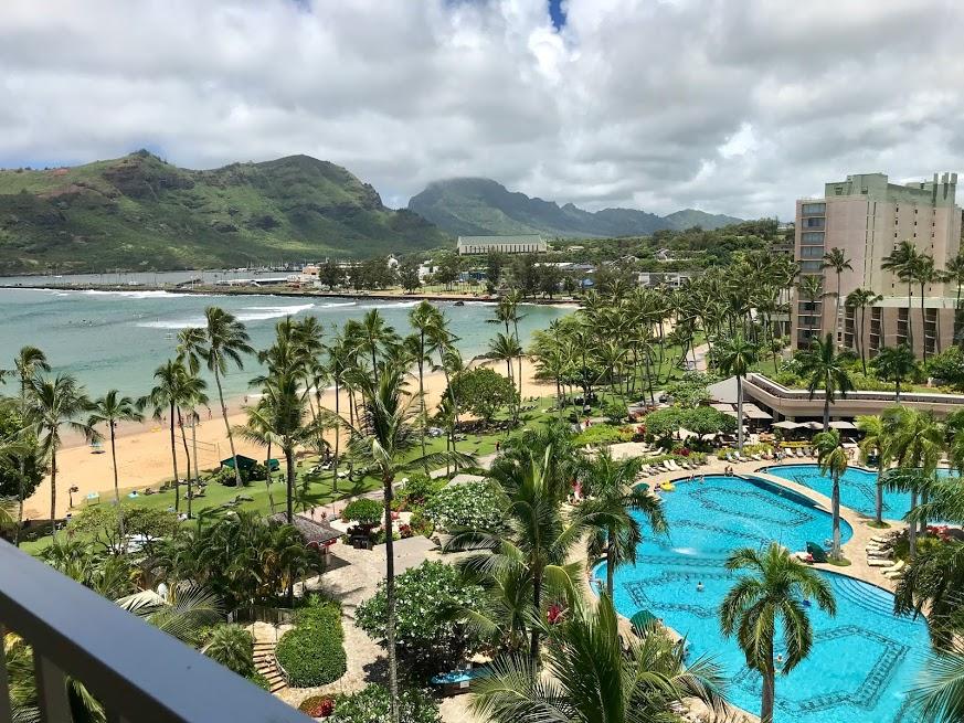 Kauai Marriott view