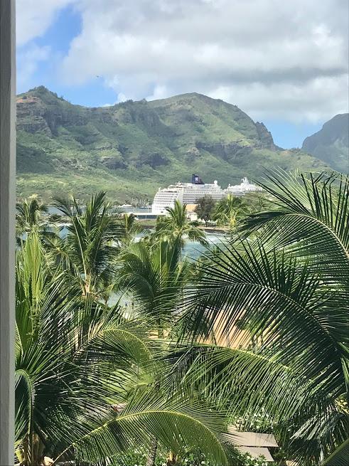 Kauai cruise ship