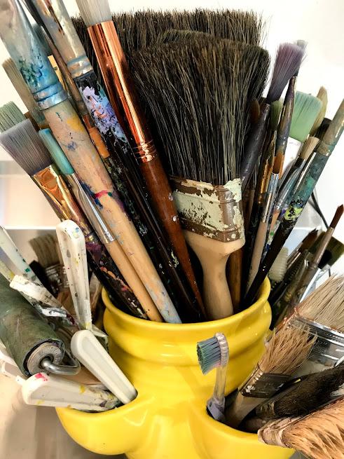 Linda Hendrickson - paint brushes