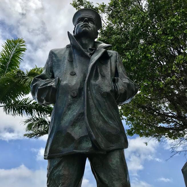 Pearl Harbor Sailor statue
