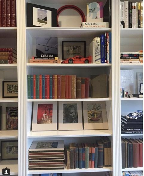 Jodi Cali bookshelf