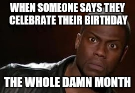 kevin hart birthday month