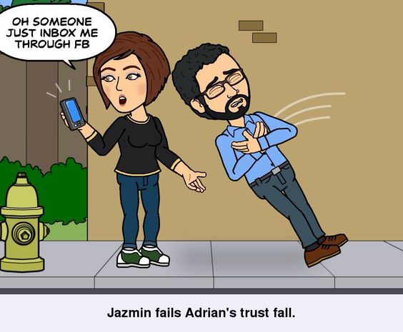 trust fall fail